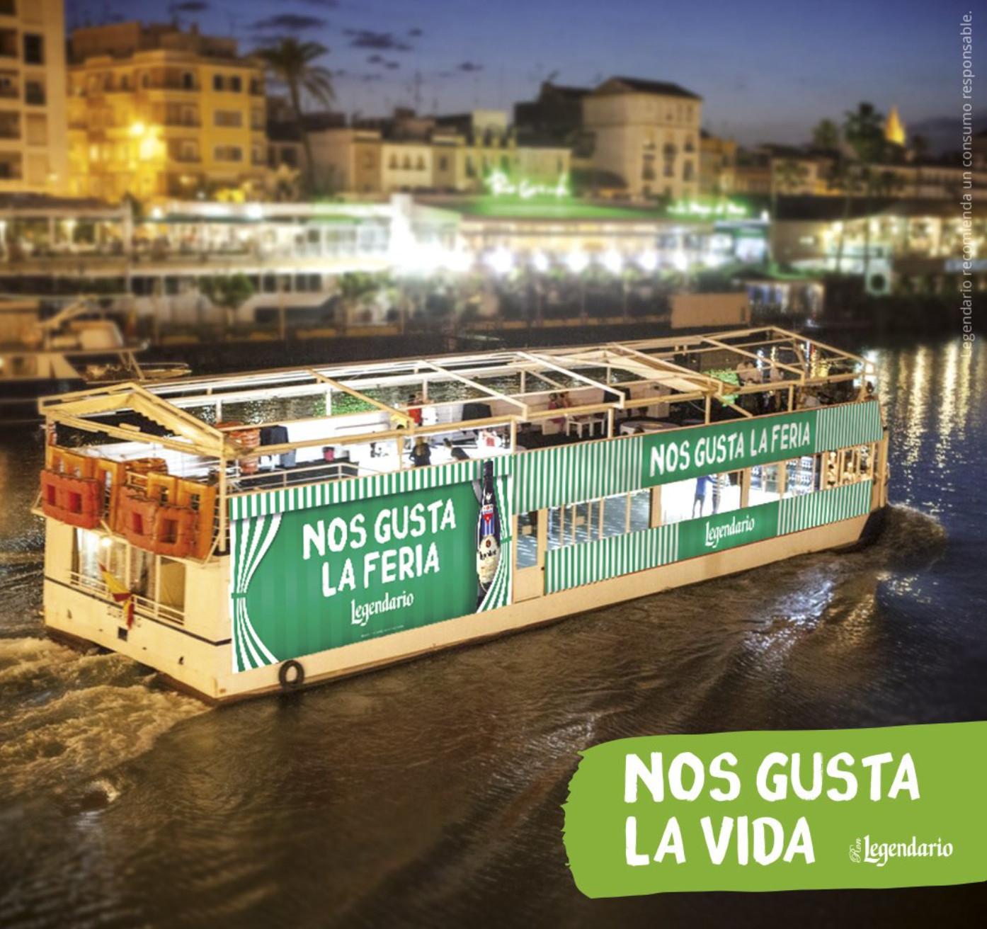 Sevilla (Feria de Abril y Ron Legendario): Travesía en barco por el Guadalquivir y Remojito (GRATIS)
