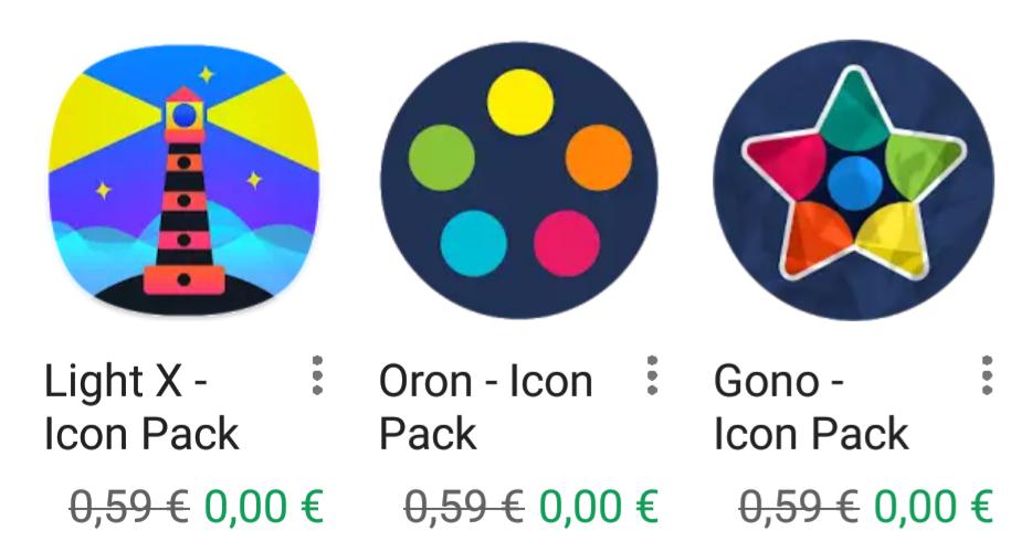 3 (Más) Icons Pack gratis