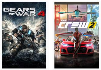 Juega Gratis Gears of War 4 y The Crew 2 (XBOX Fin de Semana gratis)