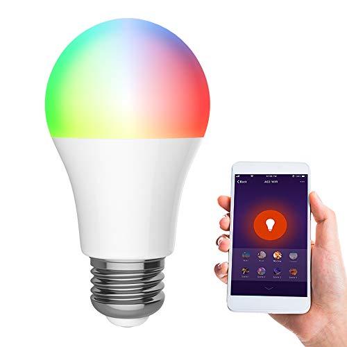 Bombilla inteligente Wifi, Bombilla LED Regulable 10,99€