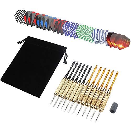 12 Dardos de Acero + accesorios extras