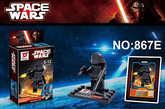 Mini figura estilo LEGO Dargo 867E (STAR WARS)