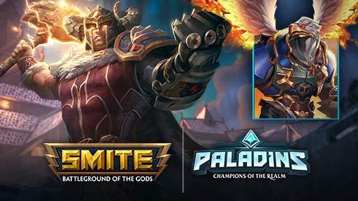 Smite  - Paquete de gladiador para usuarios de Twitch prime