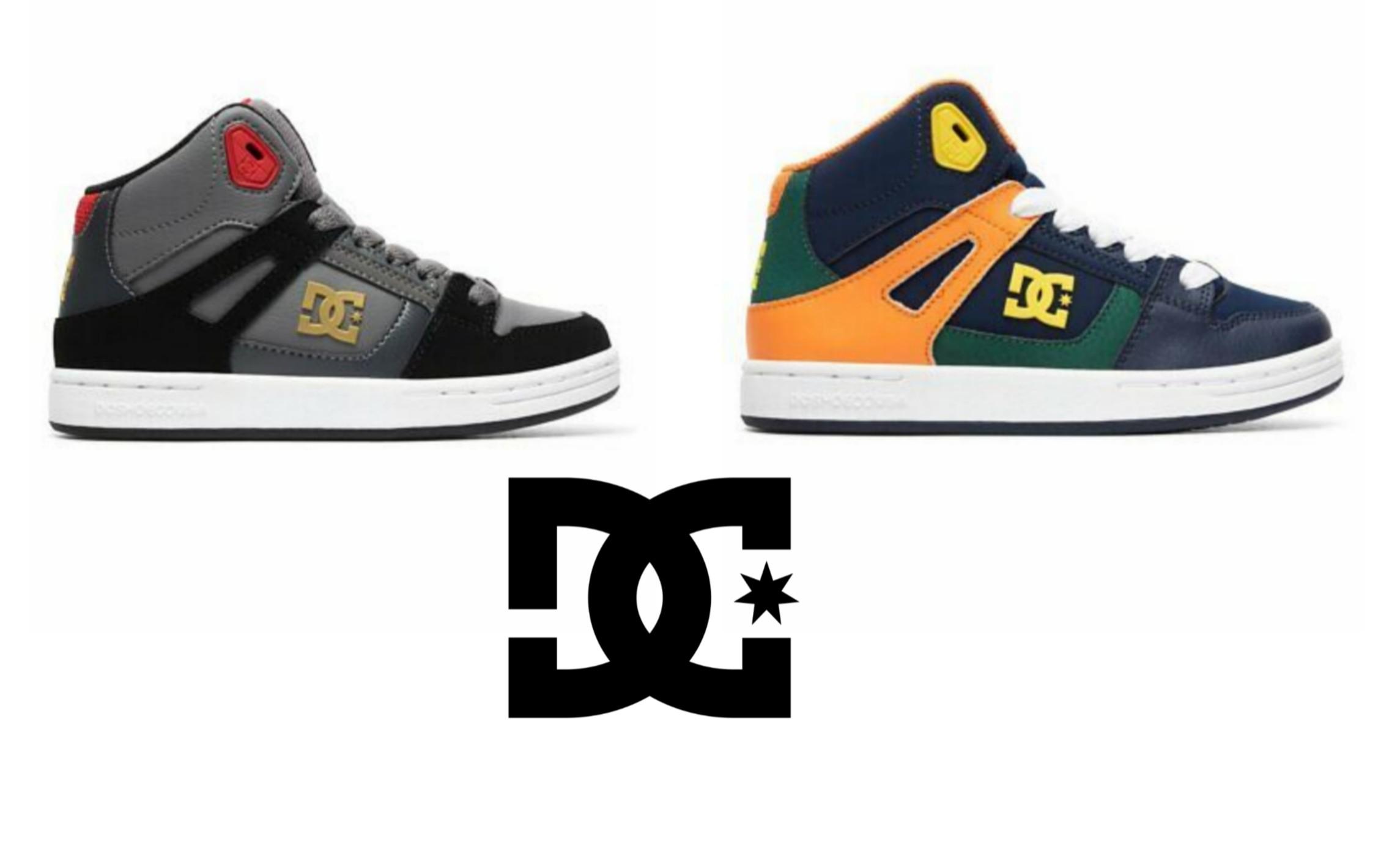 DC Shoe Pure High - Zapatillas de caña alta para Niños. 2 modelos