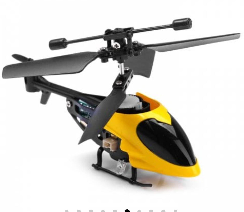 Mini helicóptero control remoto QS QS5013 2.5CH (color aleatorio)