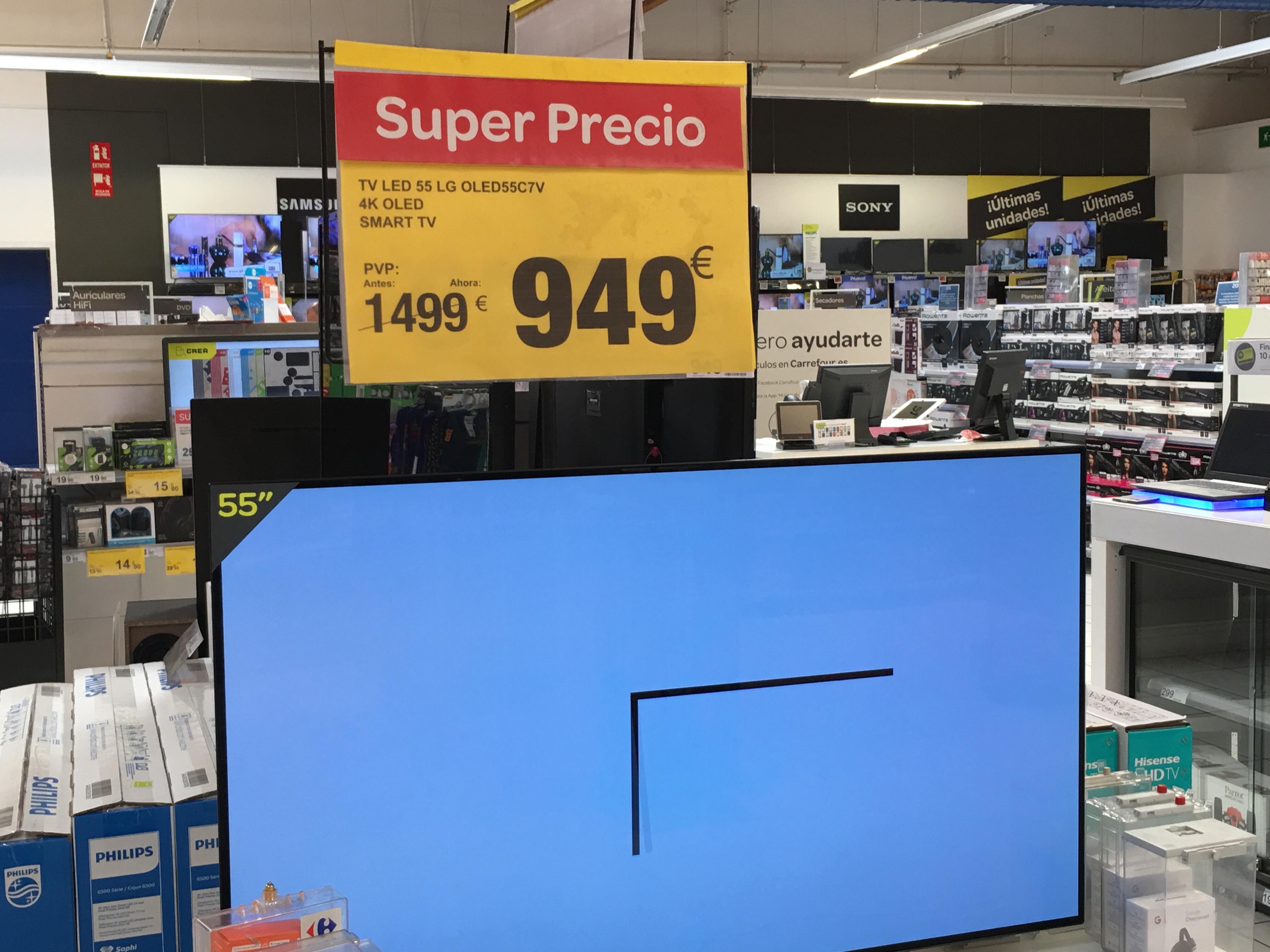 TV LED 55 LG OLED55C7V