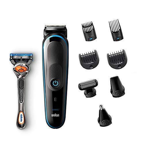 Braun 9 En 1 MGK5080 - Recortadora Barba y Cortapelos Todo en Uno