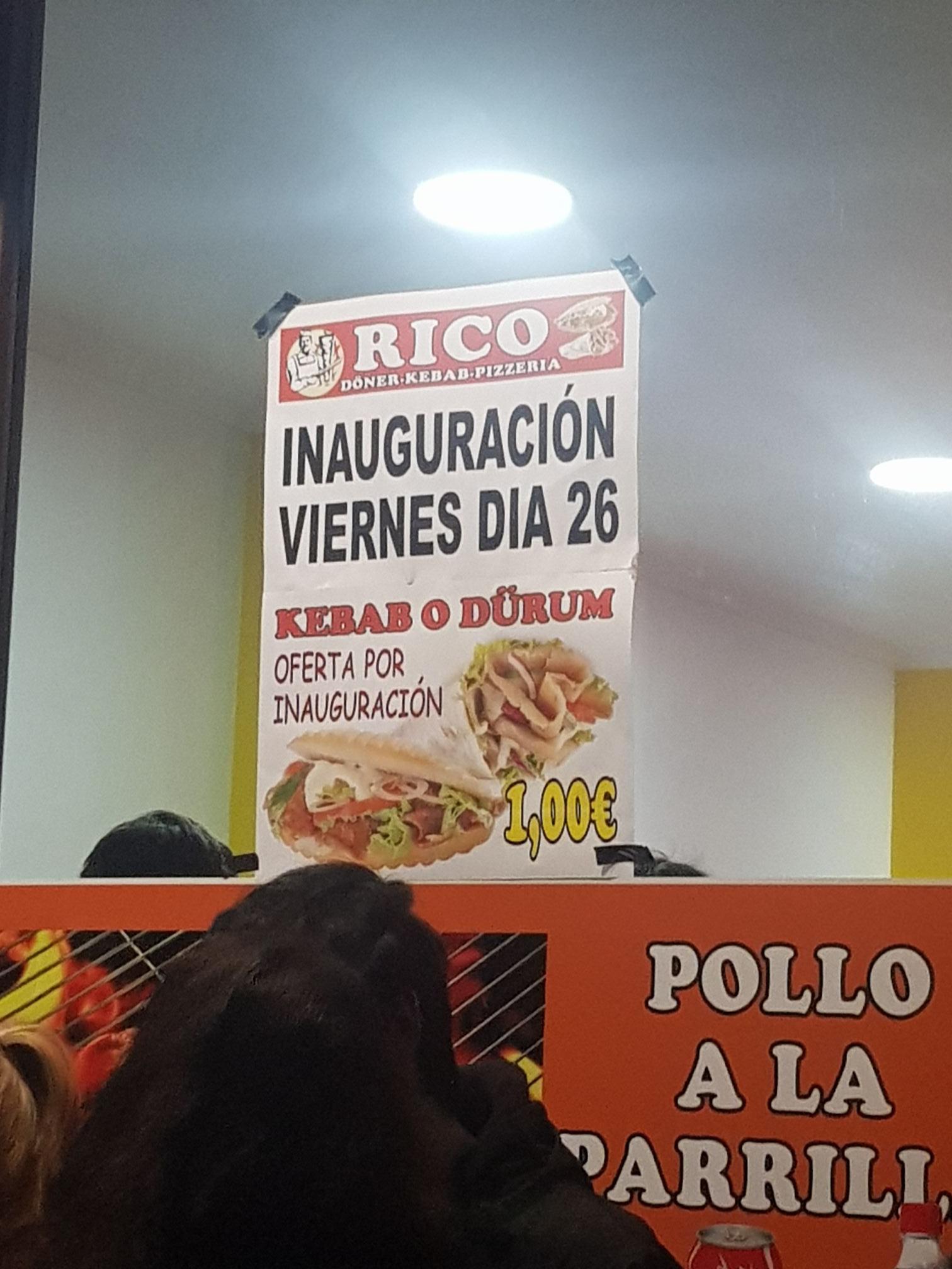 Kebab / Durum 1€ Valladolid