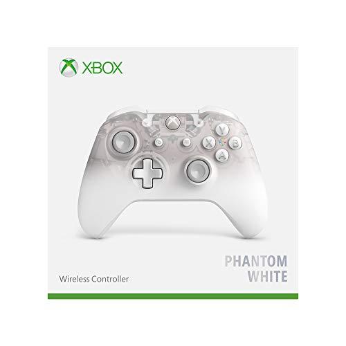Microsoft - Mando Inalámbrico Phantom White - Edición Especial (Xbox One) + Fortnite (traje EON + 500 PaVos)