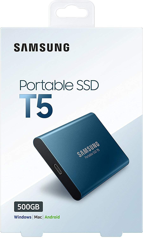 Samsung T5 500GB - SSD Externo (Precio mínimo)