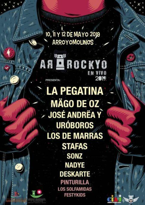 Festival gratuito Arrockyo (Mago de Oz, la pegatina y más)