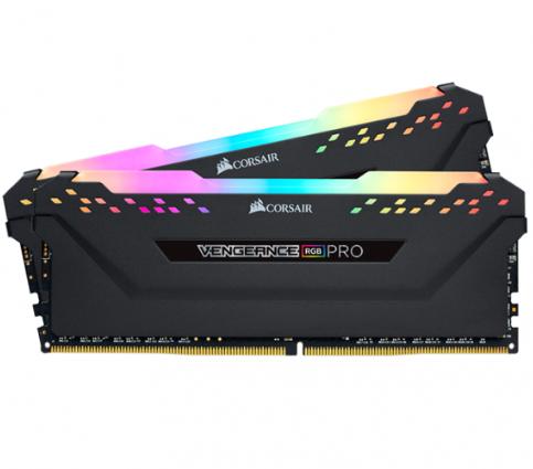 Corsair Vengeance RGB Pro Black 32GB (2x16GB) 2666MHz CL16  / 3200Mhz CL16