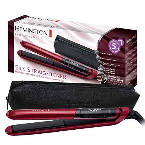 Remington Silk S9600 - Plancha de Pelo Profesional