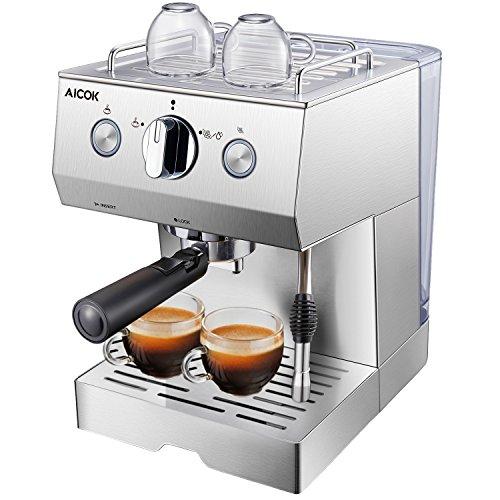 Cafetera Espresso 15 Bares Inox solo 68.9€