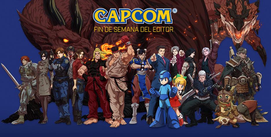 Hasta un 80% de descuento en juegos y DLCs de la compañía CAPCOM