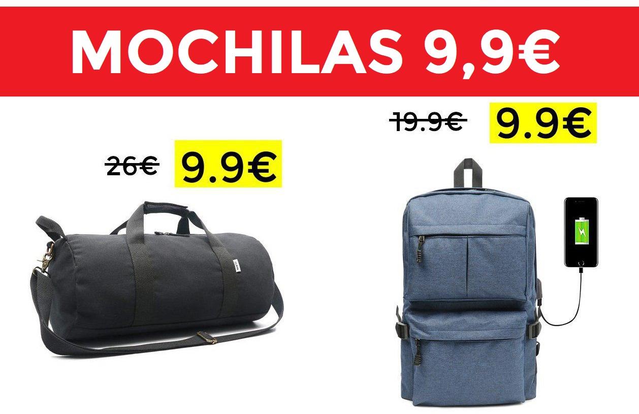 Bolsa de viaje 48cm 9.9€
