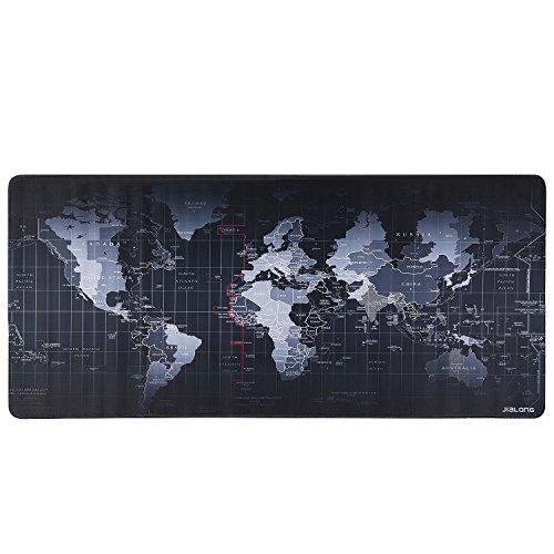 Alfombrilla tamaño 90x40 cm Gaming lavable (Mapa Mundi)