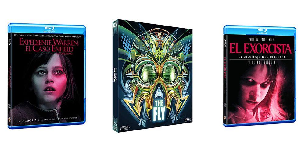 20 Blu-Rays de terror y fantástico por tan solo 9€ c/u
