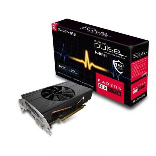 Sapphire ITX  RX 570 4GB + DOS JUEGAZOS DE REGALO.