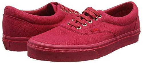 Vans Era, Zapatillas de skate Unisex rojas talla 43