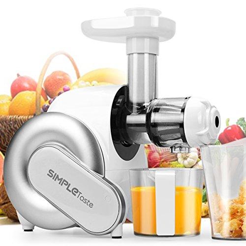 Extractor de zumo eléctrico, licuadora, exprimidor de frutas y verduras.