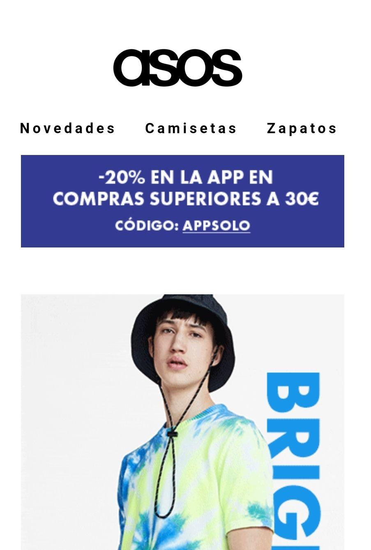 20% ASOS (Solo app)