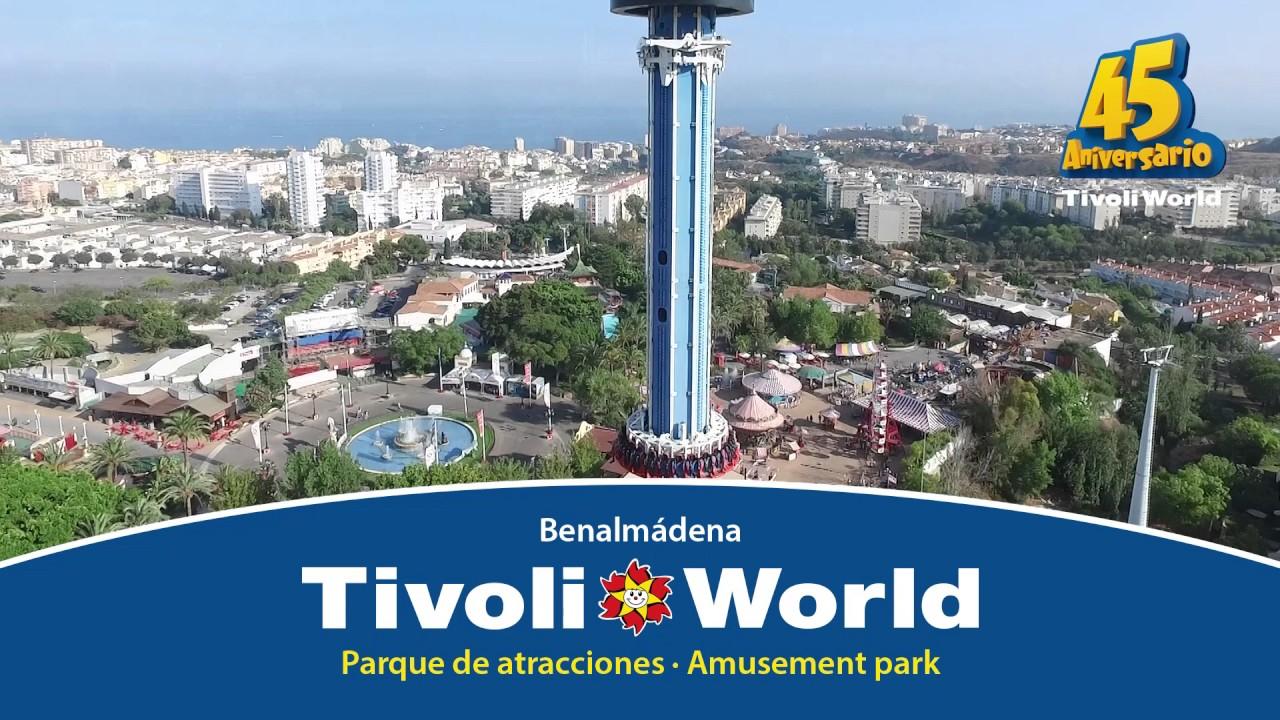 Tívoli World Entrada GRATIS Benalmádena Málaga