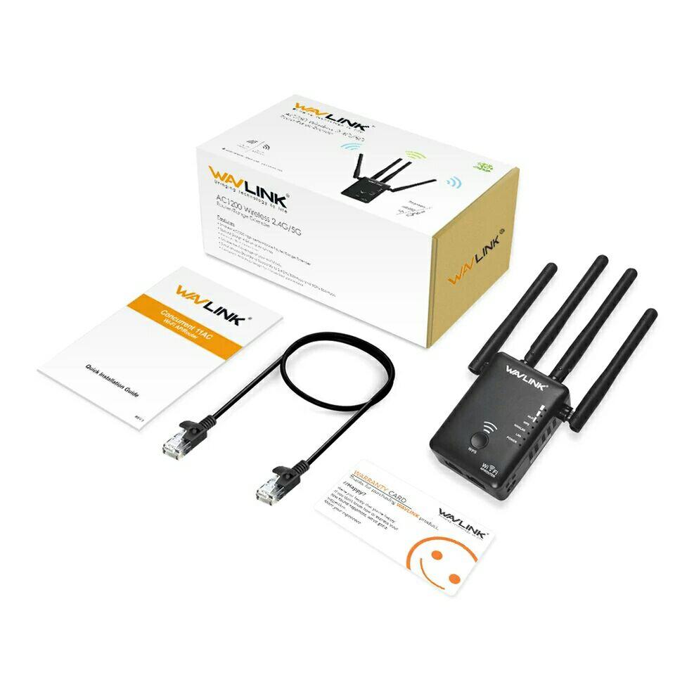 Repetidor/amplificador wifi Wavlink AC1200