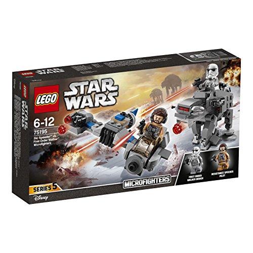 LEGO Star Wars - Microfighters: Speeder Esquiador vs. Caminante de la Primera Orden