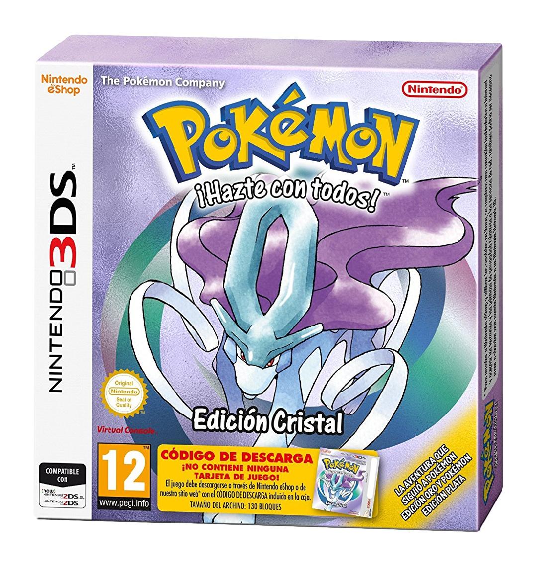 Pokémon Cristal Edición Limitada
