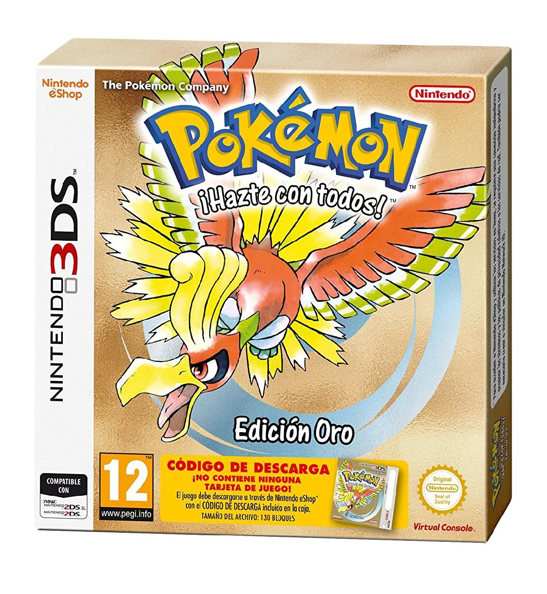Pokémon Oro Edición Limitada