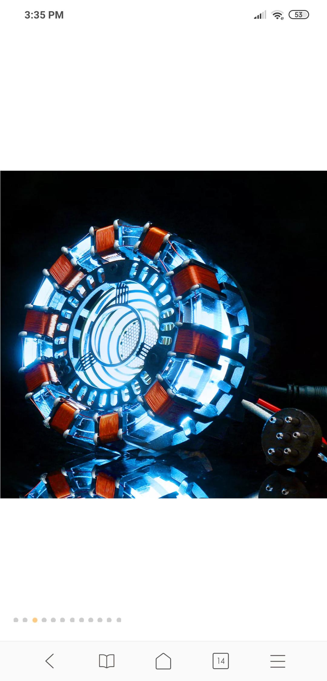 Lámpara MK 1    // Iron-man/Tony Stark