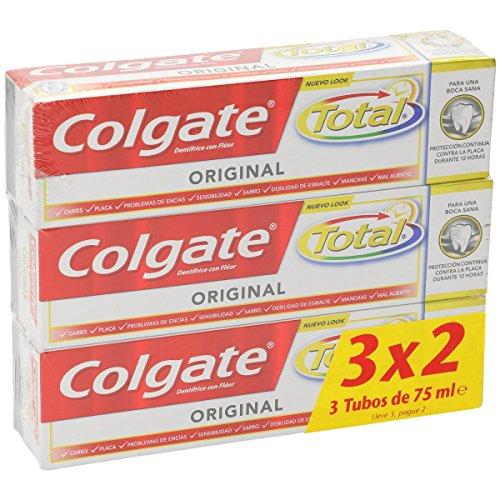 3 paquetes de Pasta de dientes Colgate