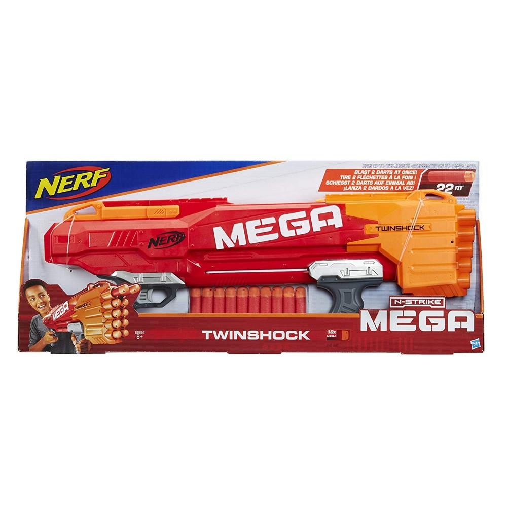Nerf Blaster Mega Twinshock