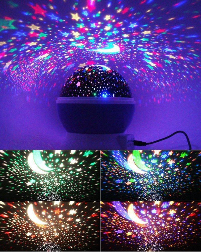 Proyector de luz nocturna para niños