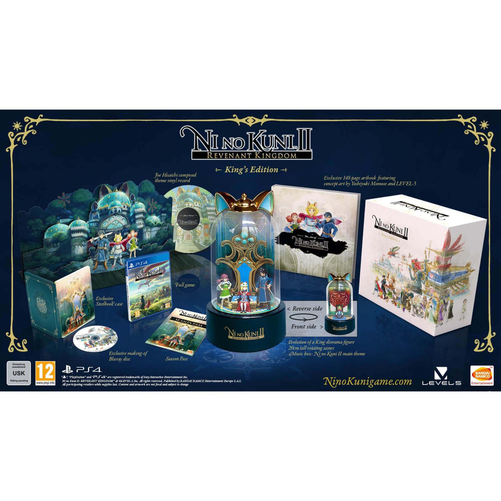 Ni No Kuni II: El Renacer de un Reino - King's Edition - PS4