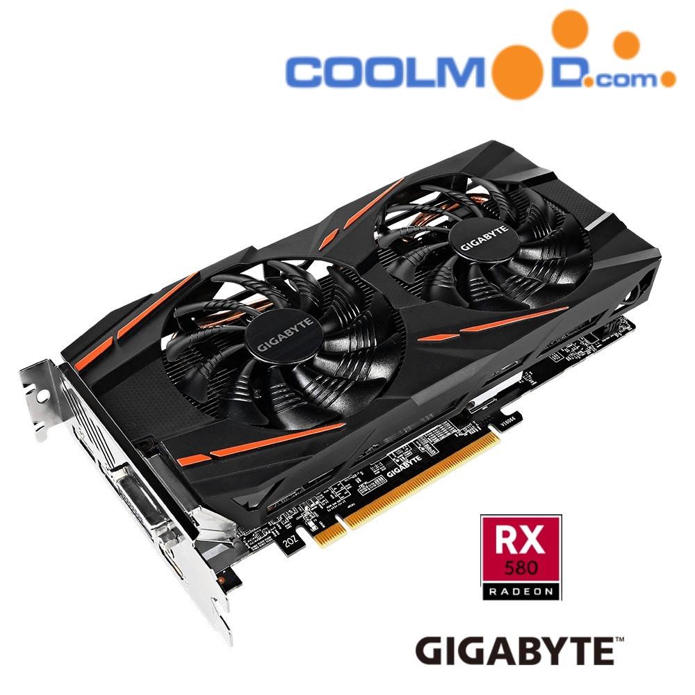 Gigabyte Radeon RX 580 Gaming 4GB GDDR5 [ 2 Juegos GRATIS ]