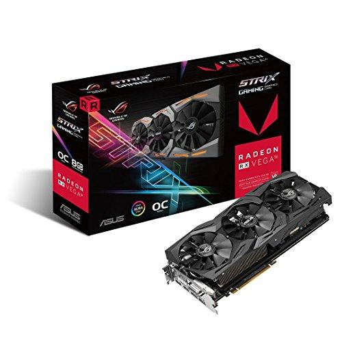ASUS RX Vega 56 8bg + dos juegos
