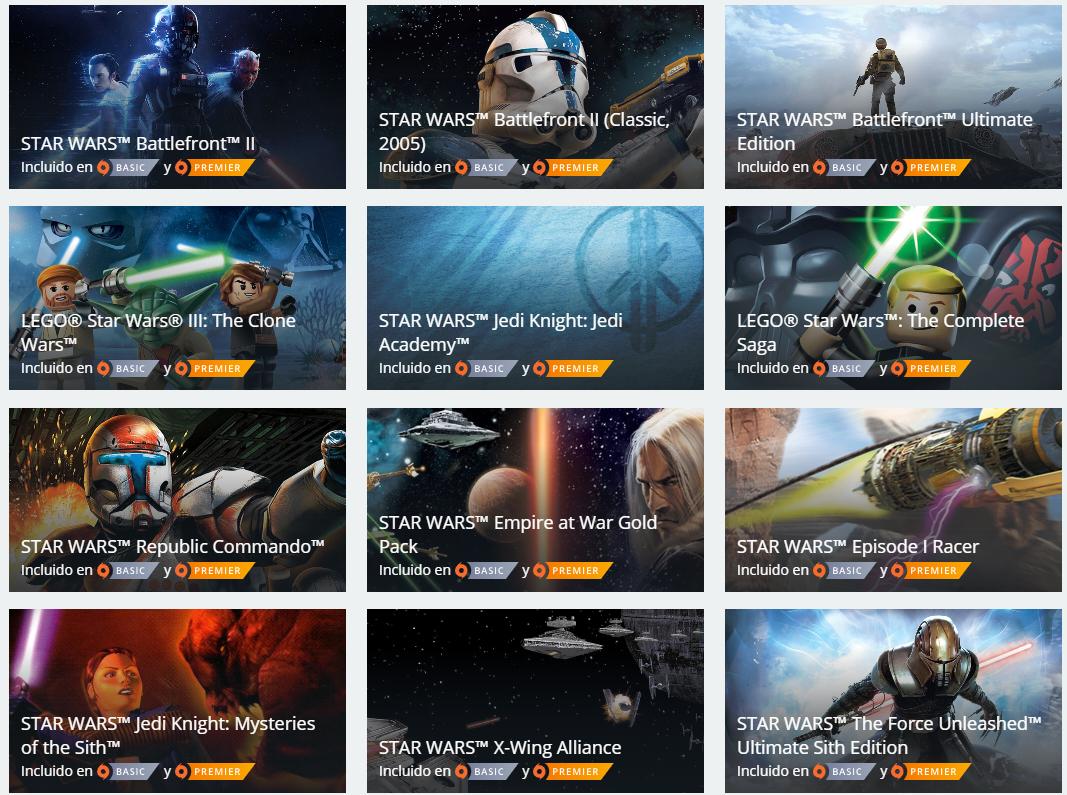 Origin: 17 juegos de Star Wars hasta un 70%