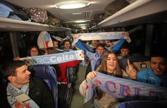 Autobuses gratis para los abonados del Celta en la visita a San Mamés (12 Mayo)