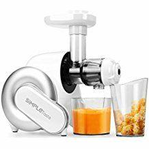 SimpleTaste extractor de zumo eléctrico, licuadora, exprimidor de frutas y verduras