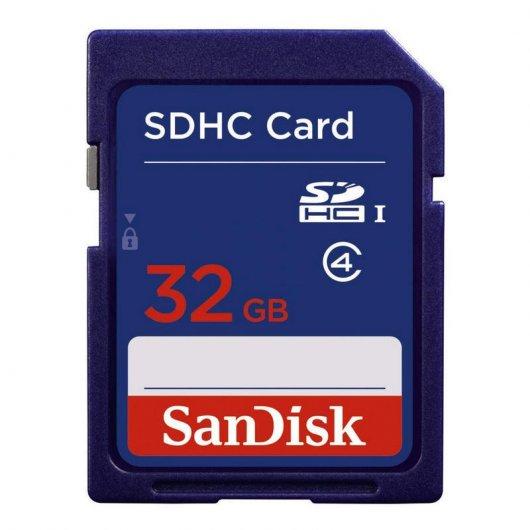 SanDisk - SDHC Card de 32GB - Clase 4