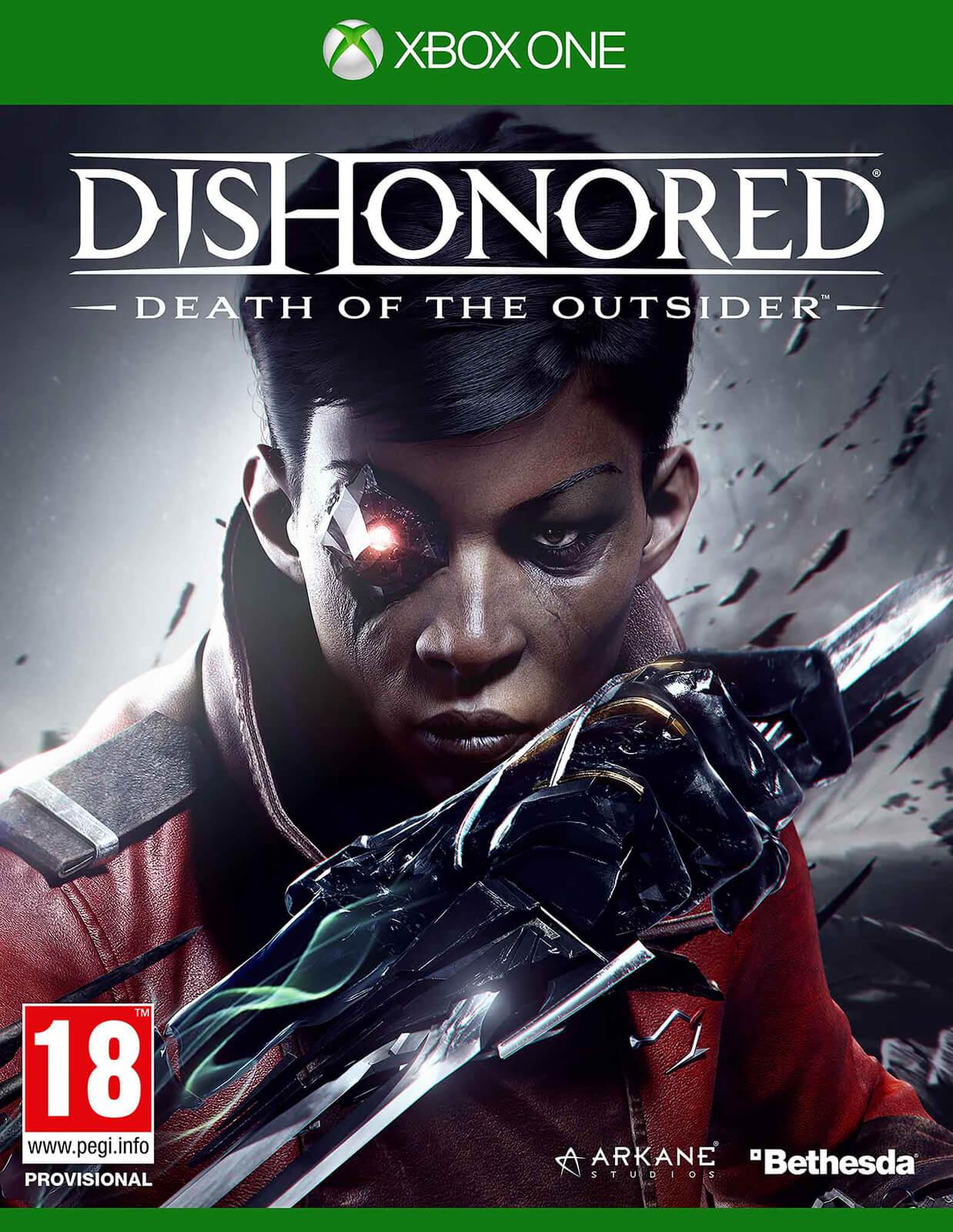 Dishonored: La muerte del Forastero (Xbox One, físico)