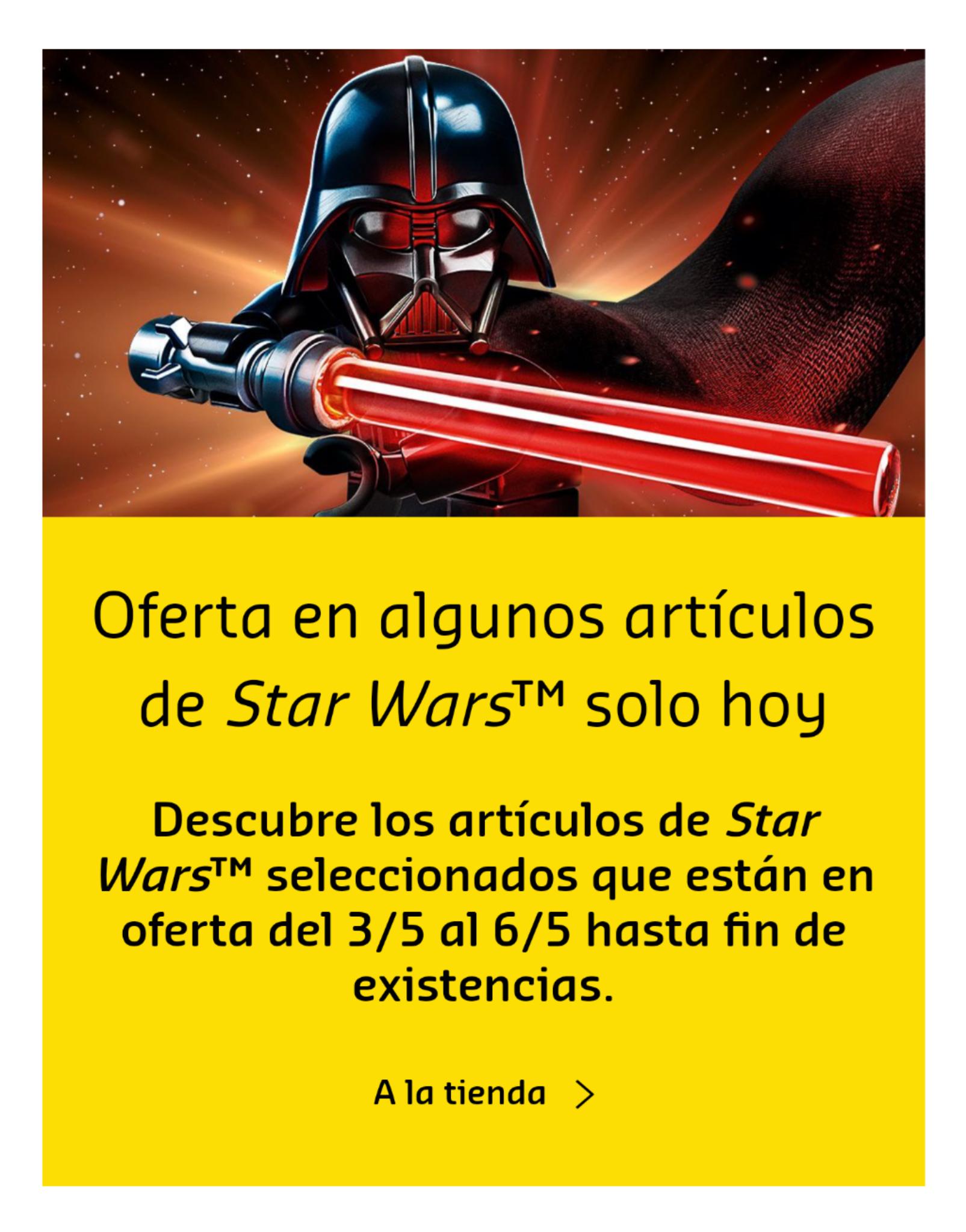 Ofertas en Lego Star Wars