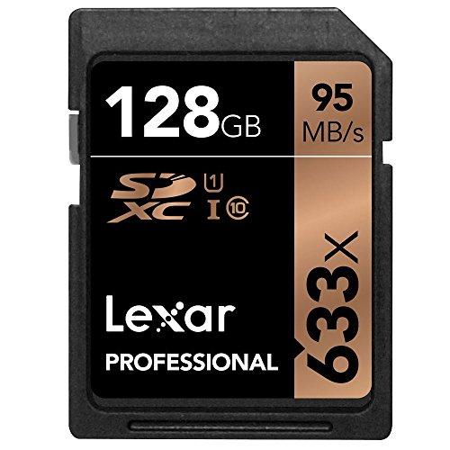 Tarjetas Lexar Professional 633x 128GB SDXC UHS-I