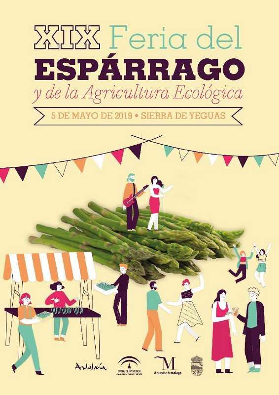 Degustación Gratuita de 2.000 Kg de Espárragos en Málaga