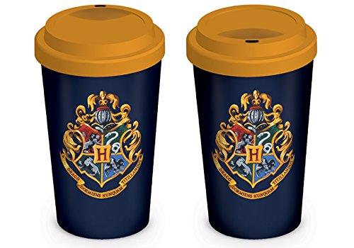 Harry Potter Taza de cerámica con el Escudo de Hogwarts PLUS