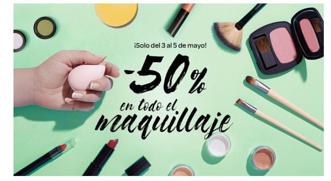 -50% EN TODOS LOS PRODUCTOS DE MAQUILLAJE en Carrefour