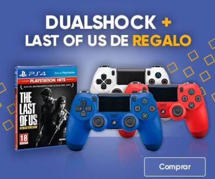 Mando DualShock 4 Azul V2 PS4 + The Last of Us Remastered Gratis (FNAC Socios)