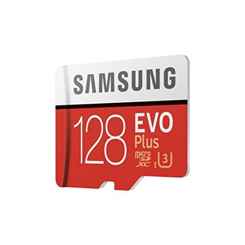 Tarjeta memoria microSD 128 GB + Adaptador Samsung (Mínimo Histórico)